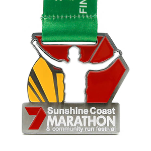 Cheap Custom Sports Marathon Running Medals with Images And Letters
