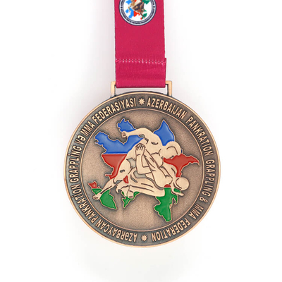 Custom Made 3d Taekwondo Challenge Award Metal Medal