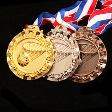 Stock Custom Cheap Blank Basketball Medal