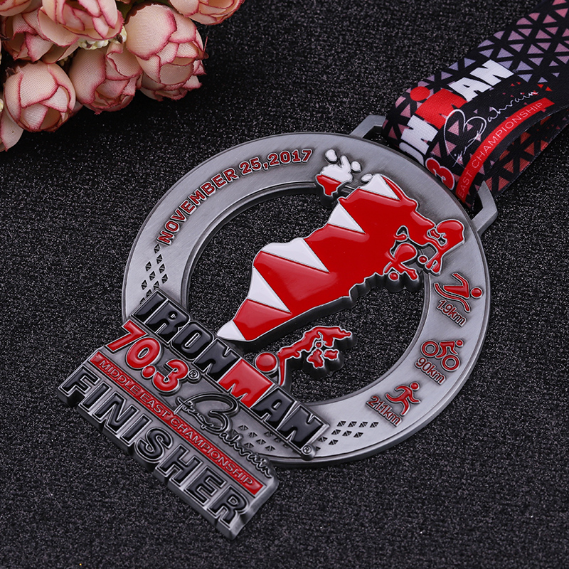 Cheap Gold for Promotion Medallas Sports Triathlon Medal