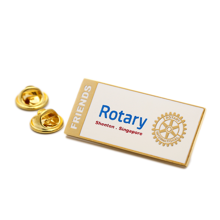 Name Company Singapore Rotary Badge