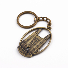 Brass Keyring House Shape Metal 2019 Create Your Own Keychain