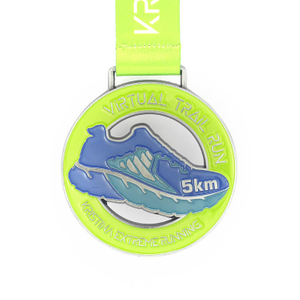 High Quality Custom 5km 10km Marathon Running Sports Metal Medal