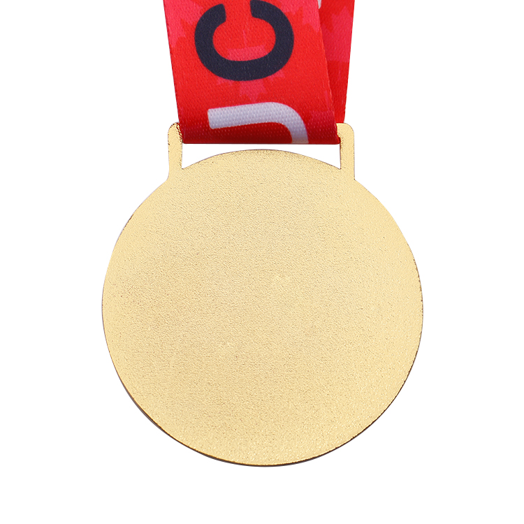 Custom Design Gold Plating Judo Metal Medal