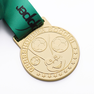 China Cups Medal Soccer Football Trophies And Medals Sports Embossed Animal Medallion