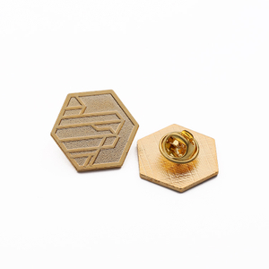 Metal Reel Die Cast Custom Bag Gold Reel 3d Pin Bagde