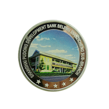 Custom Coin Bank Banks Gold Souvenir Medallion Coins