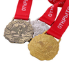 Medals for Mettle1st 2st 3st Alloy China Gold Silver Bronze Medal