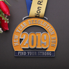 Creative Design Medallas Sports Large Zinc Alloy with Enamel Color Stainless Steel Medal