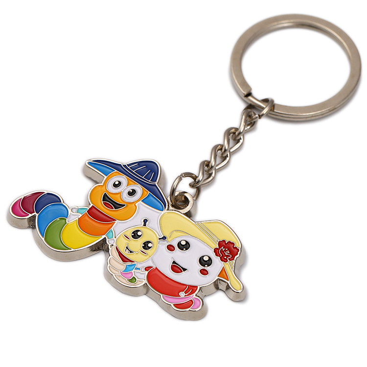 Engraved 3d Metal Custom Friendship Funny Keychain