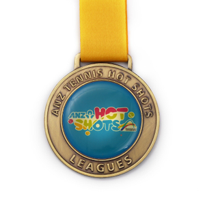Cute Epoxy Custom Cheap Blank Tennis Medal