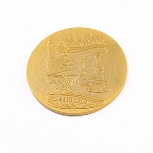 Thiland Challenge Set Embossed Coin Cheap Metal Tokens Bulk Gold Coins