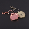 Gold Fish Custom Die Cut Meal Accessories Light Keychain