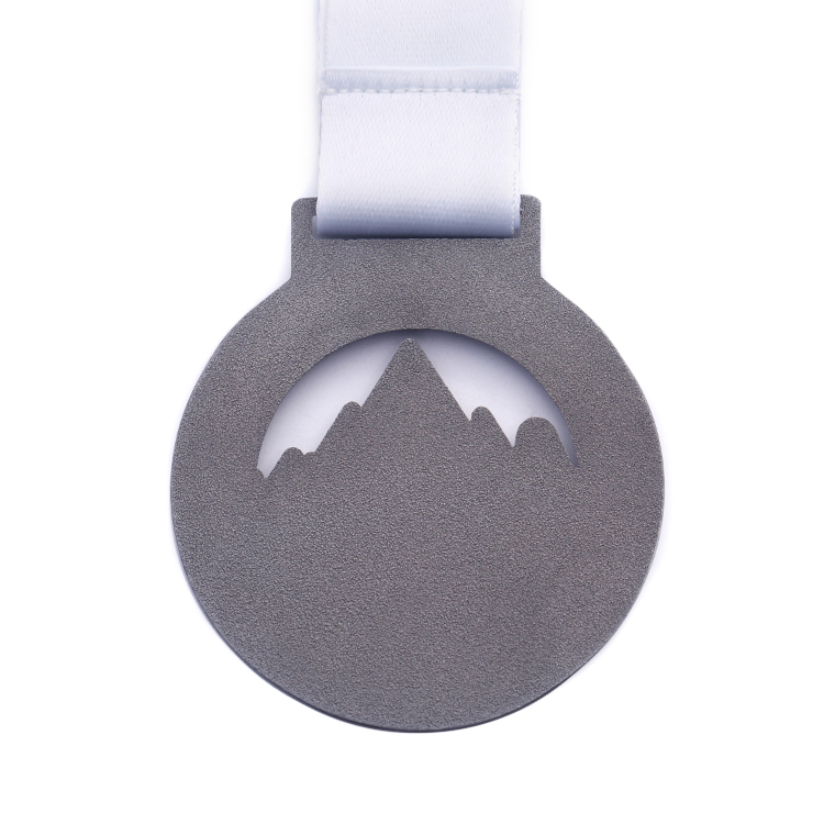 Cheap Badminton Mountaineering Medals 24k Gold Plating Medal