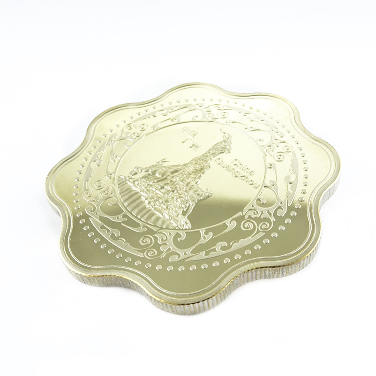 China Silver Chiness Luck Coins Gold One Coin