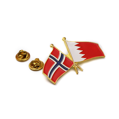 Uae Flag Country Shape German Thailand Custom Tin Badge