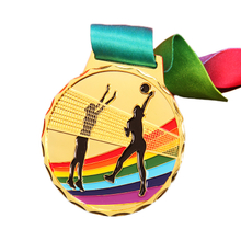Stock Custom Cheap Blank Tennis Medal
