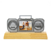 Customized Fantasy Marathon Award Metal Trophy with Wooden Base