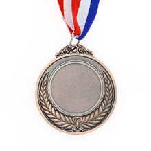Custom Bronze Metal Casting Blank Medal in Metal Crafts