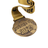 Embossed Metal Award Puzzle Chain Competition Medallion