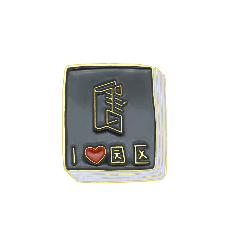 Promotional Cheap Custom Printing Metal Magnet Name Badge