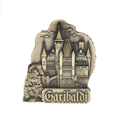 High Quality 3D Custom Metal Souvenir Magnet Fridge