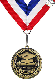What do medals at graduation mean?