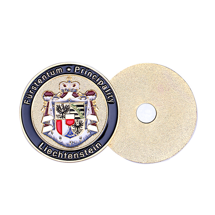 Zinc Alloy Challenge Trolley Keyring Antique Brass High Quality Commemorative Coin Gifts