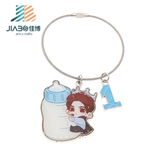 Custom Lovely Baby Soft Enamel Keychain Promotion