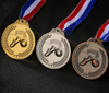 Stock Cheap Metal Blank Sports Football Medals