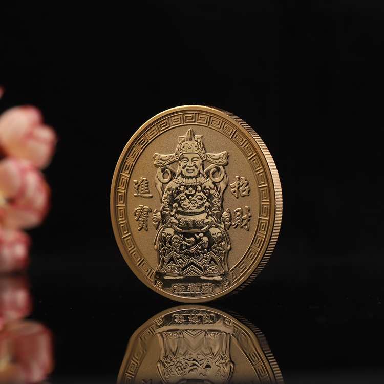Metal Craft Bulk Gold Chinese Silver Chinese Luck Special Custom Coins