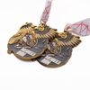 Medals of Honor Quotes 1st 2st 3st Sport Customized Running Make Metal Medal