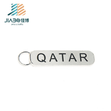 cheap engraved round sublimation metal keychain 30mm blanks